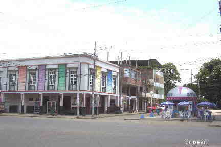 Center of Portoviejo - Province Manabi Ecuador